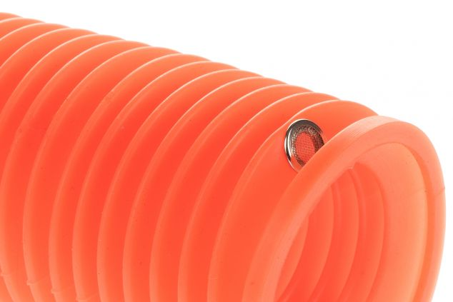 Bellows small orange silicone connector size from